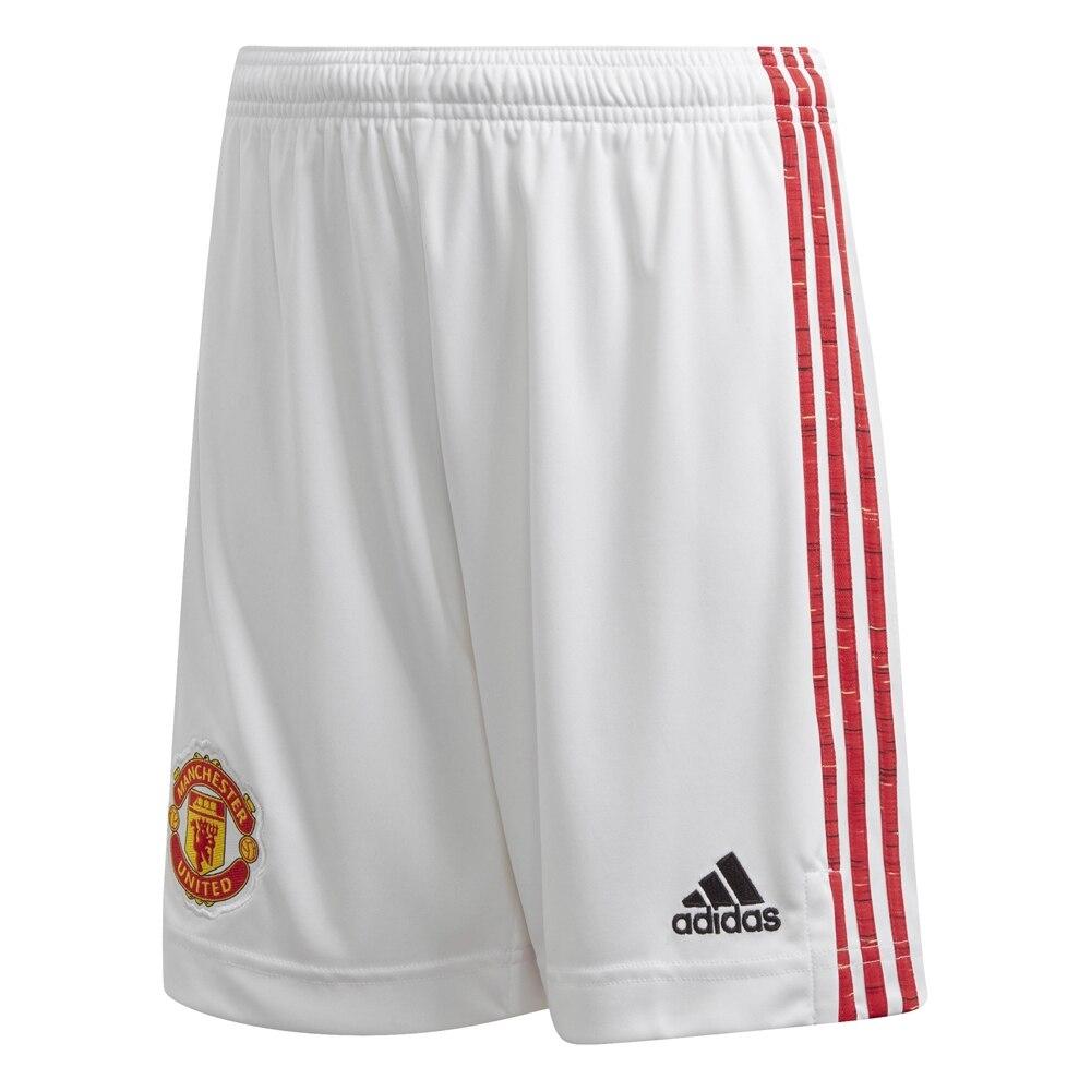 Adidas Manchester United Fotballshorts 20/21 Hjemme Barn