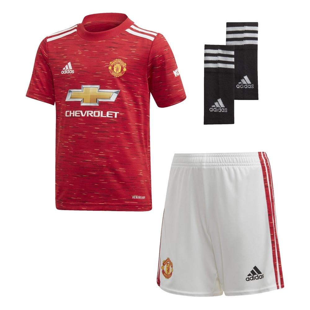 Adidas Manchester United Draktsett 20/21 Barn Hjemme
