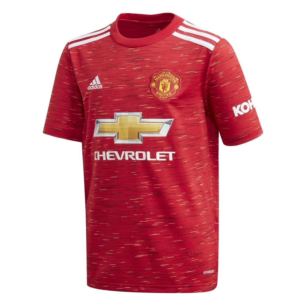 Adidas Manchester United Fotballdrakt 20/21 Hjemme Barn
