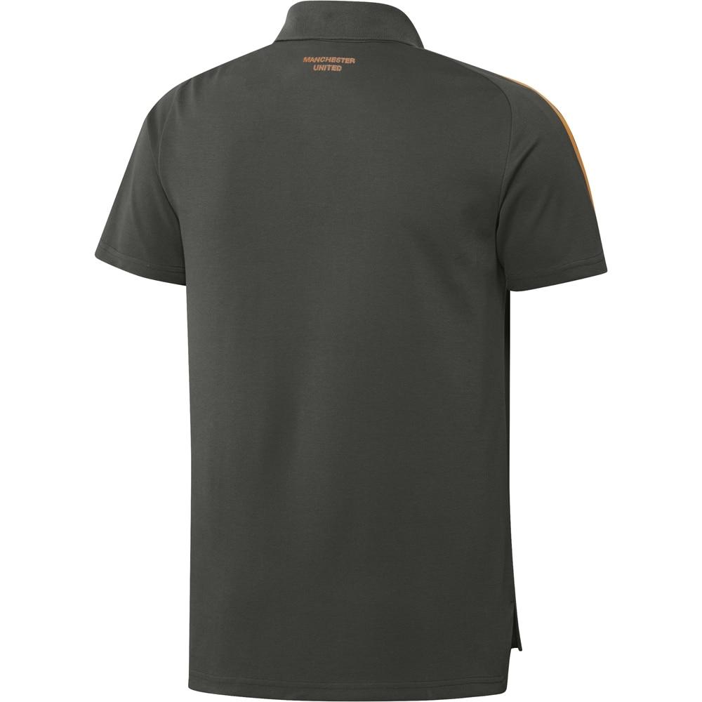 Adidas Manchester United Polo T-skjorte 20/21 Grønn