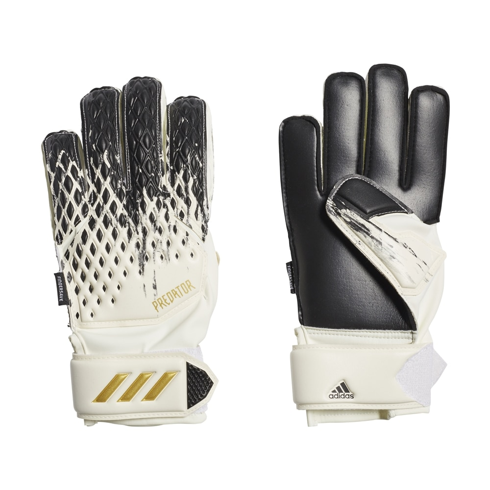 Adidas Predator Match Fingersave Keeperhansker Barn InFlight Pack Sort/Hvit