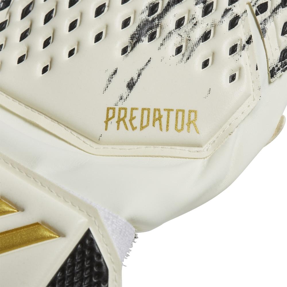 Adidas Predator Match Fingersave Keeperhansker Barn InFlight Pack Sort/Hvit