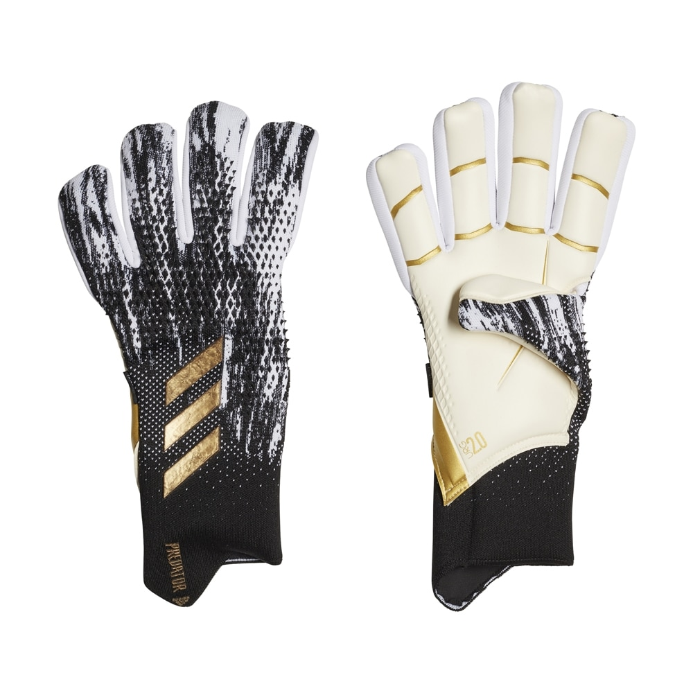 Adidas Predator Pro FingerSave Keeperhansker InFlight Pack Sort/Hvit