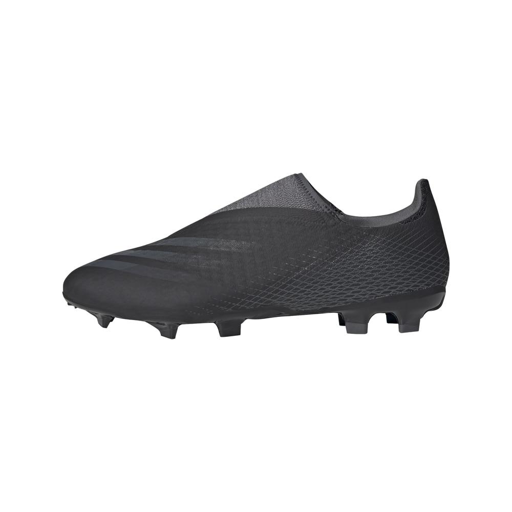 Adidas X Ghosted.3 Laceless FG/AG Fotballsko Dark Motion Pack