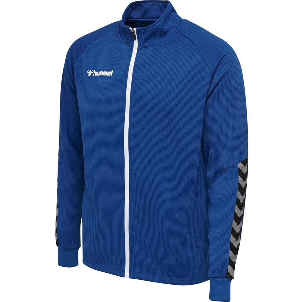 Hummel Authentic Poly Zip Treningsjakke Blå