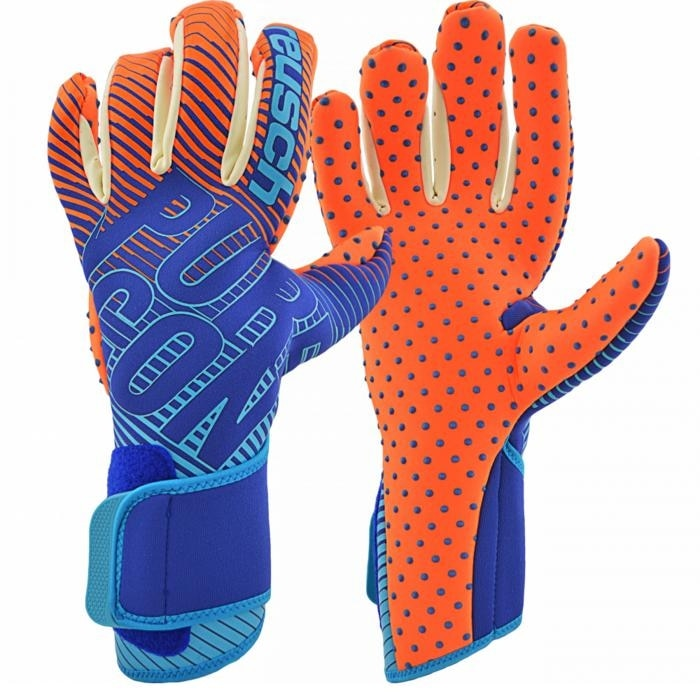 Reusch Pure Contact 3 G3 SpeedBump Keeperhansker Blå/Oransje