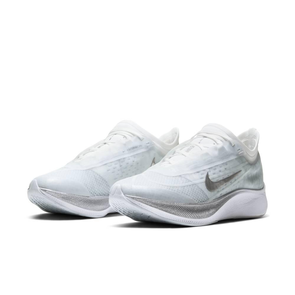 Nike Zoom Fly 3 Joggesko Dame Lysegrå