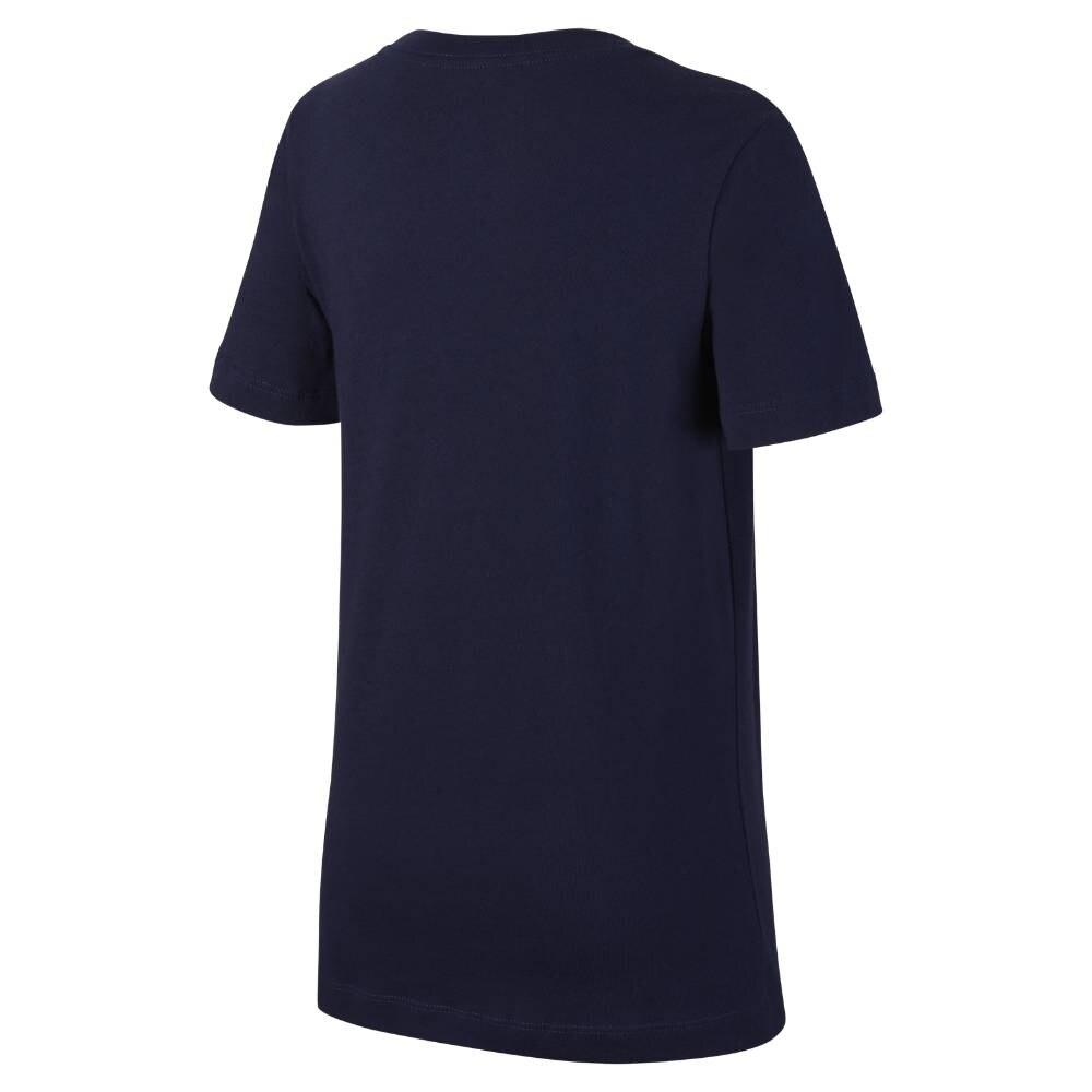 Nike Frankrike EM 2021 Fritid T-Skjorte Barn Marine