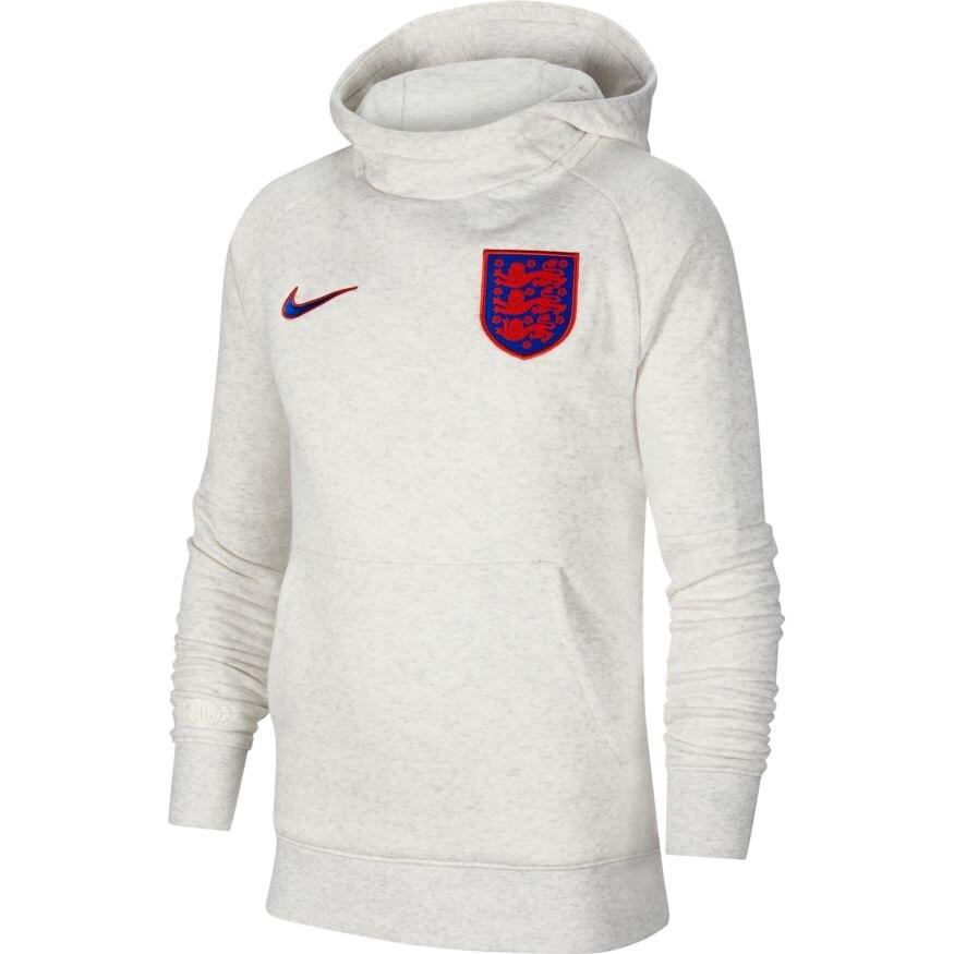 Nike England EM 2021 Hoodie Hettegenser Barn Hvit
