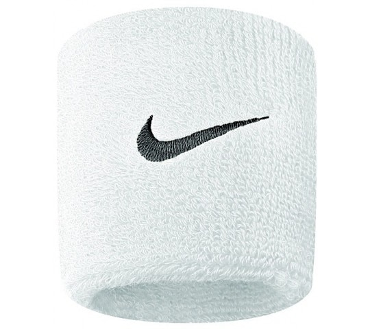 Nike Swoosh Svettebånd Hvit