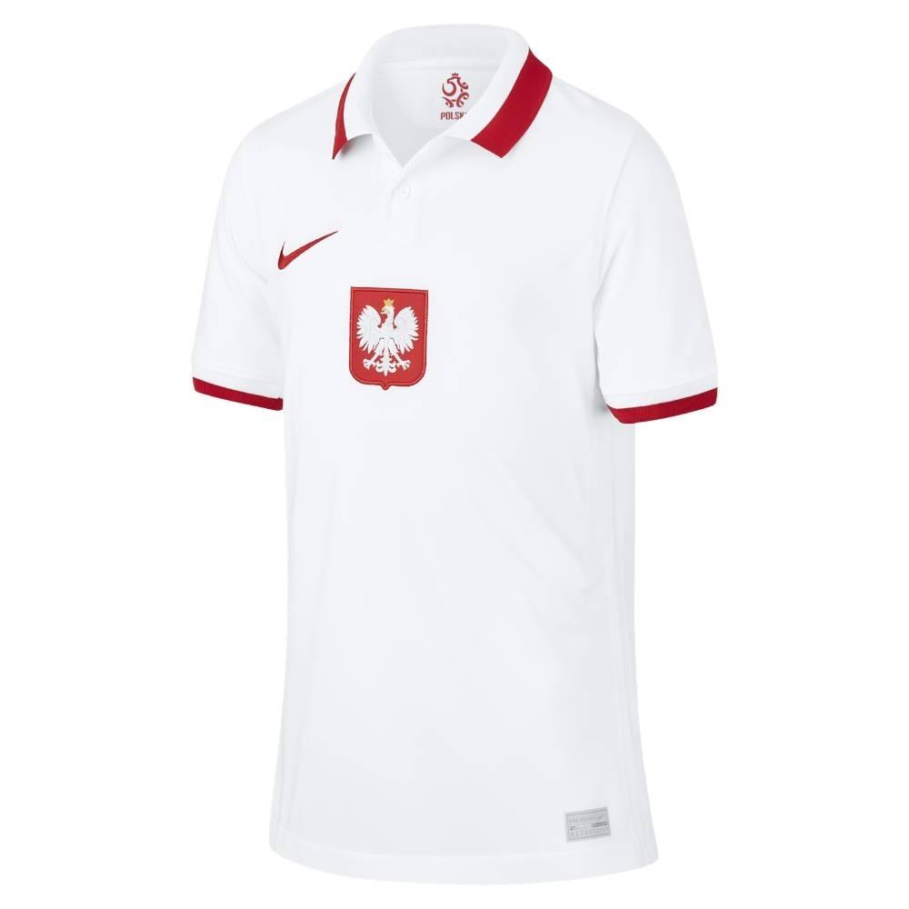 Nike Polen Fotballdrakt EM 2021 Hjemme Barn