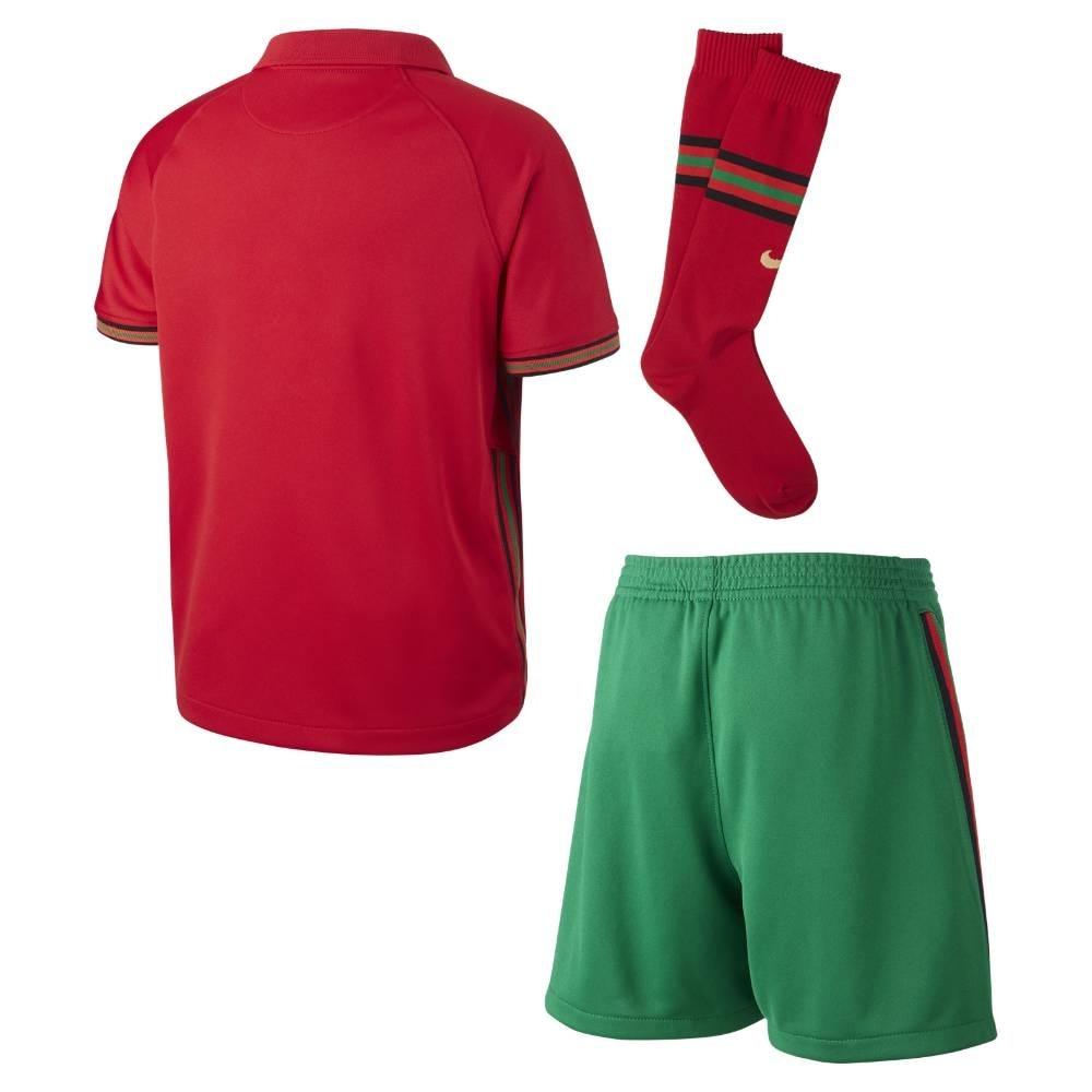Nike Portugal Draktsett EM 2021 Hjemme Barn