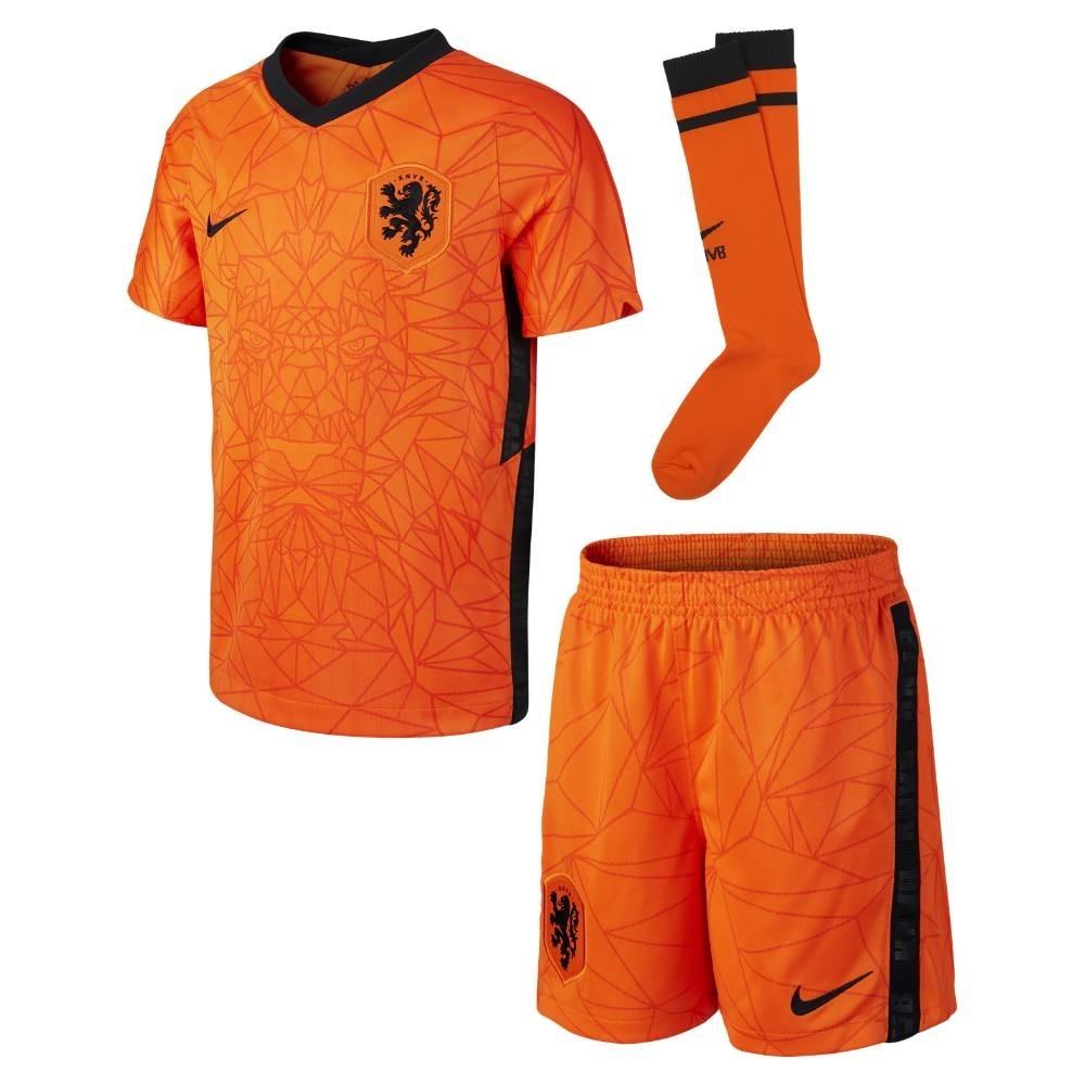 Nike Nederland Draktsett EM 2021 Hjemme Barn