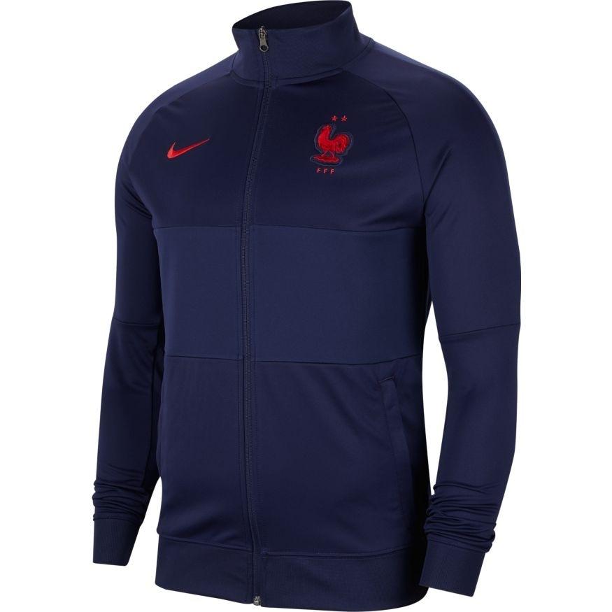 Nike Frankrike EM 2021 Anthem Fotballjakke Marine