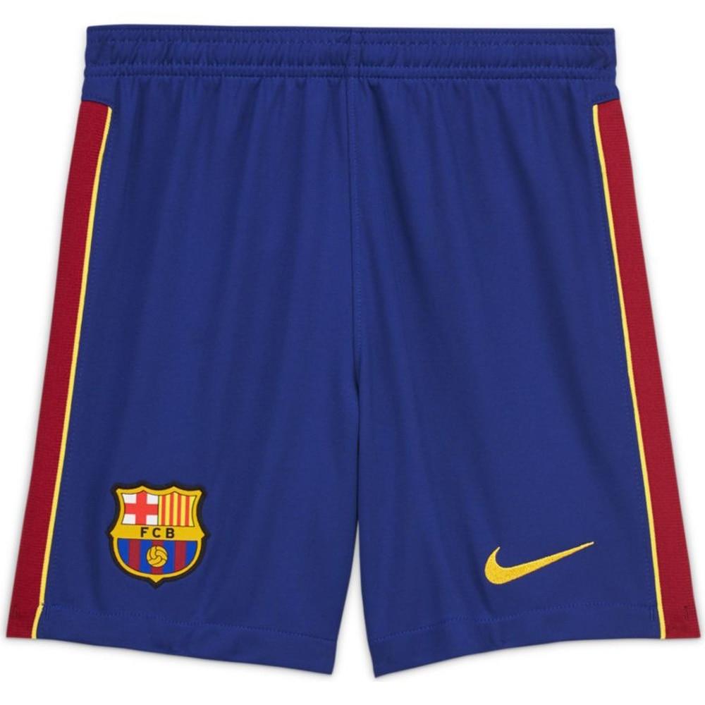 Nike FC Barcelona Fotballshorts 20/21 Hjemme Barn