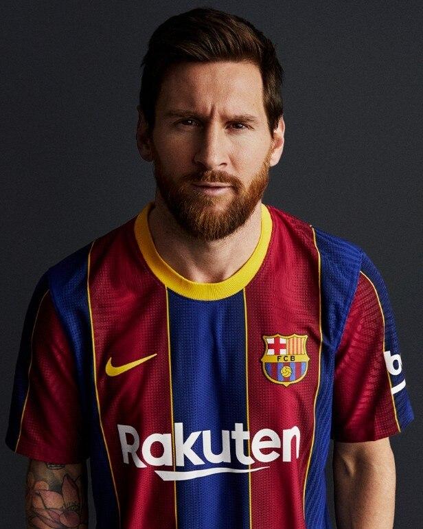Nike FC Barcelona Draktsett 20/21 Hjemme Barn