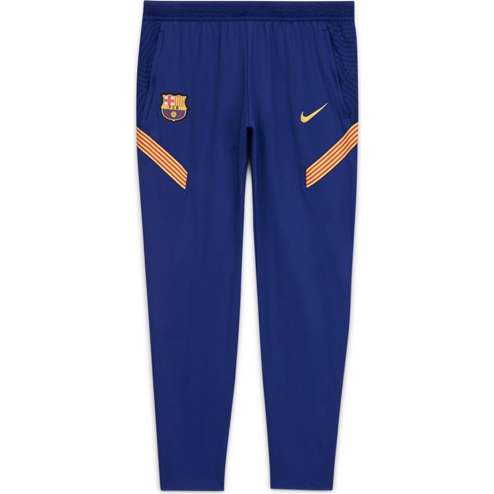 Nike FC Barcelona Dry Strike Fotballbukse 20/21 Blå