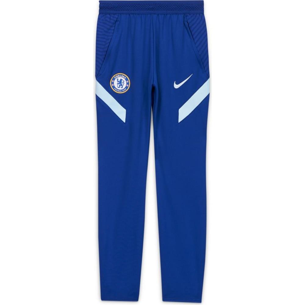 Nike Chelsea Dry Strike Fotballbukse 20/21 Barn Blå
