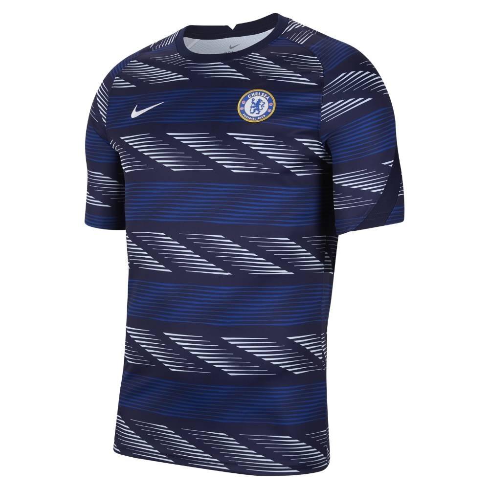 Nike Chelsea FC Breath Pre Match Treningstrøye 20/21 Marine