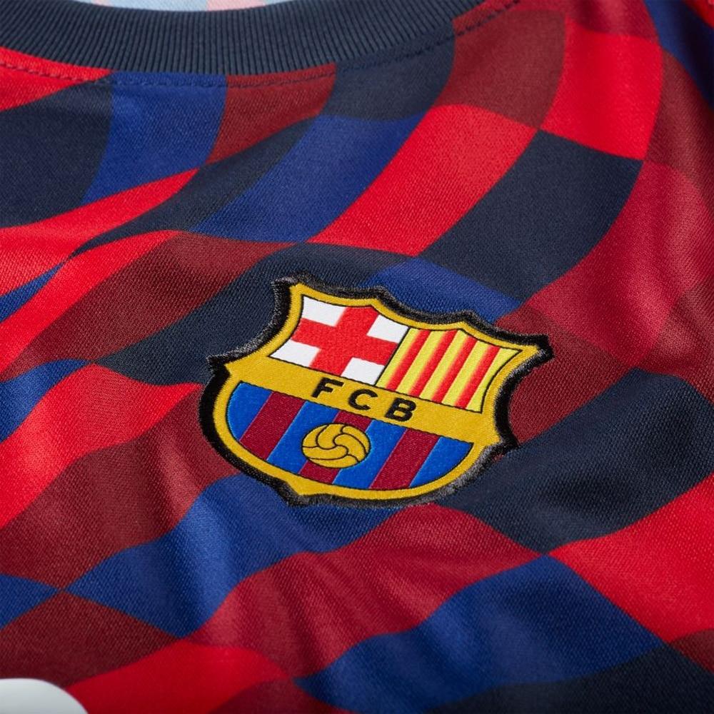 Nike FC Barcelona Breath Pre Match Fotballtrøye 20/21 Rød