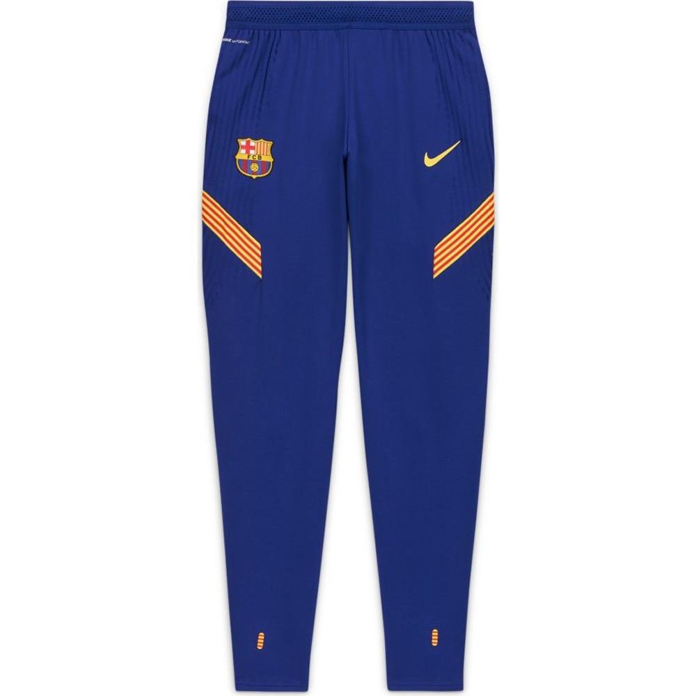 Nike FC Barcelona Vaporknit Strike Fotballbukse 20/21 Blå