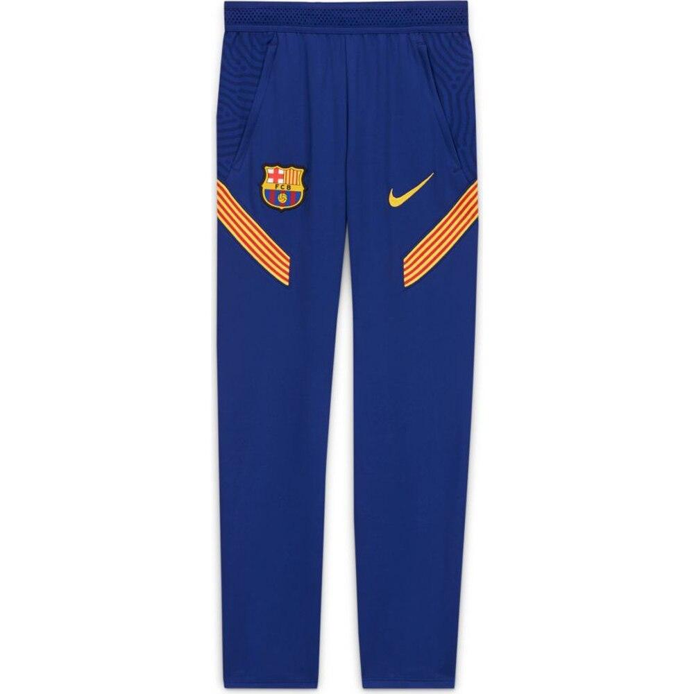 Nike FC Barcelona Dry Strike Fotballbukse 20/21 Barn Blå