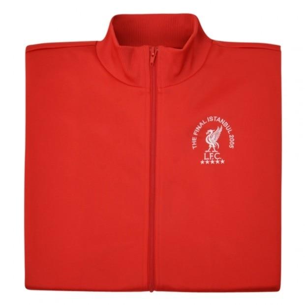 Official Product Liverpool FC Retro Fotballjakke CL Istanbul 2005