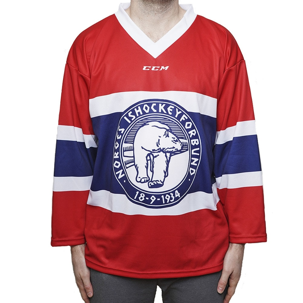Ccm Norge Ishockeydrakt Hjemme Junior