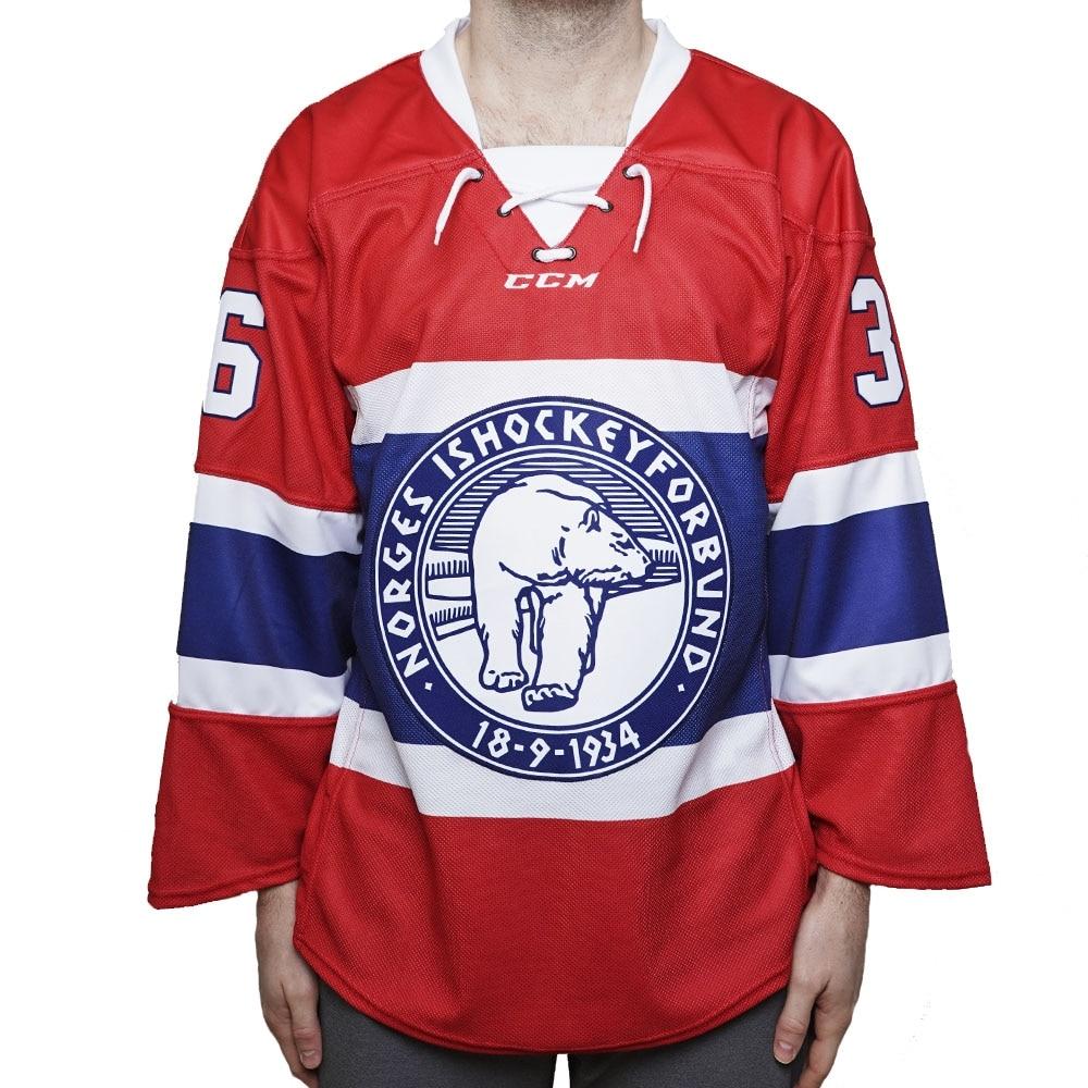 Ccm Norge Ishockeydrakt Hjemme Senior - Zuccarello 36