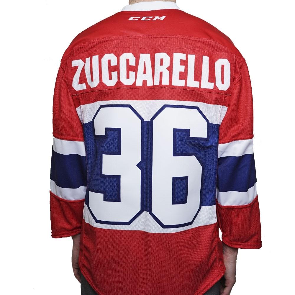 Ccm Norge Ishockeydrakt Hjemme Junior - Zuccarello 36
