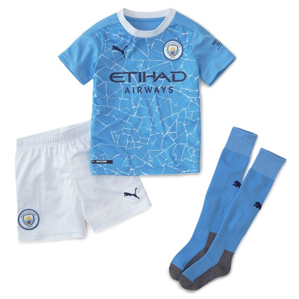 Puma Manchester City Draktsett 20/21 Hjemme Barn