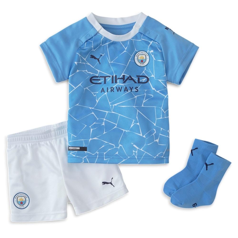 Puma Manchester City Draktsett 20/21 Hjemme Baby