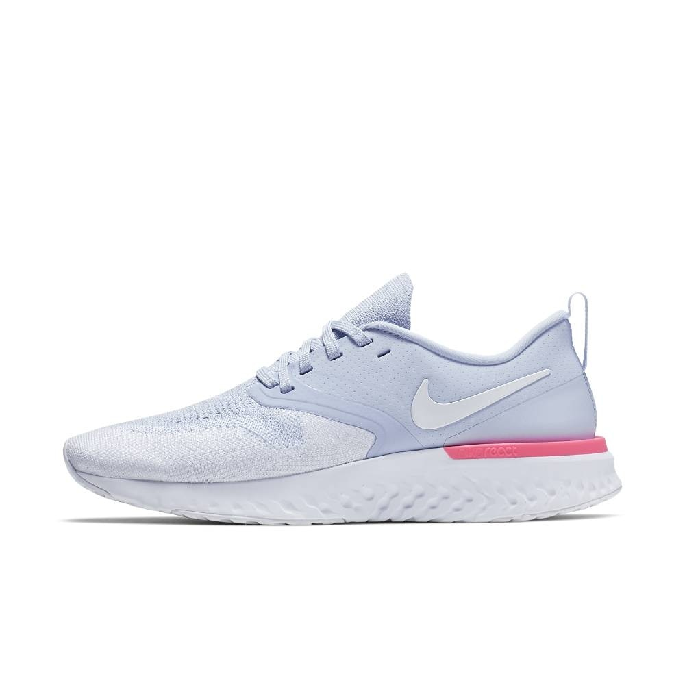 Nike Odyssey React Flyknit 2 Joggesko Dame Lyseblå