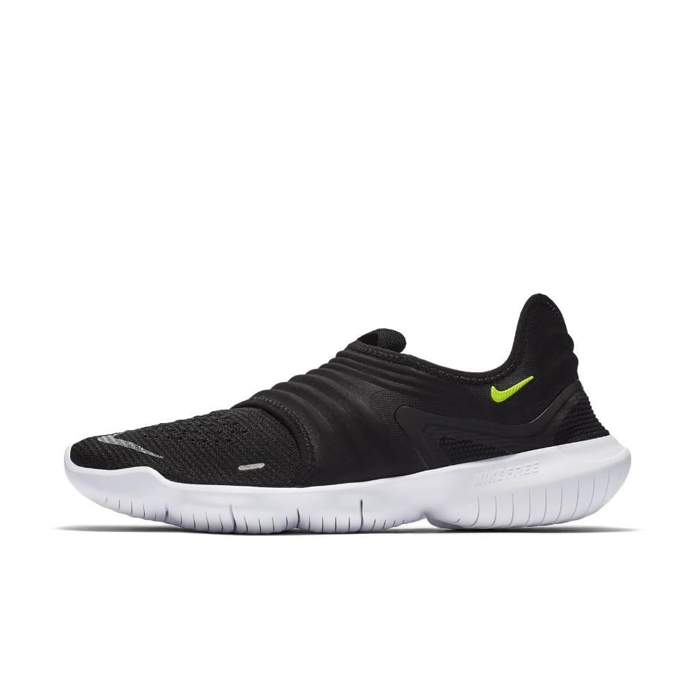 Nike Free Run Flyknit 3.0 Joggesko Herre Sort