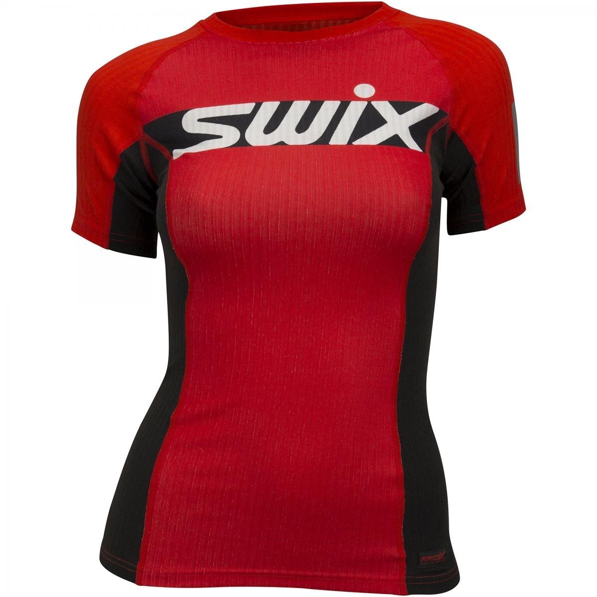 Swix RaceX Carbon Treningstrøye Dame Rød/Sort