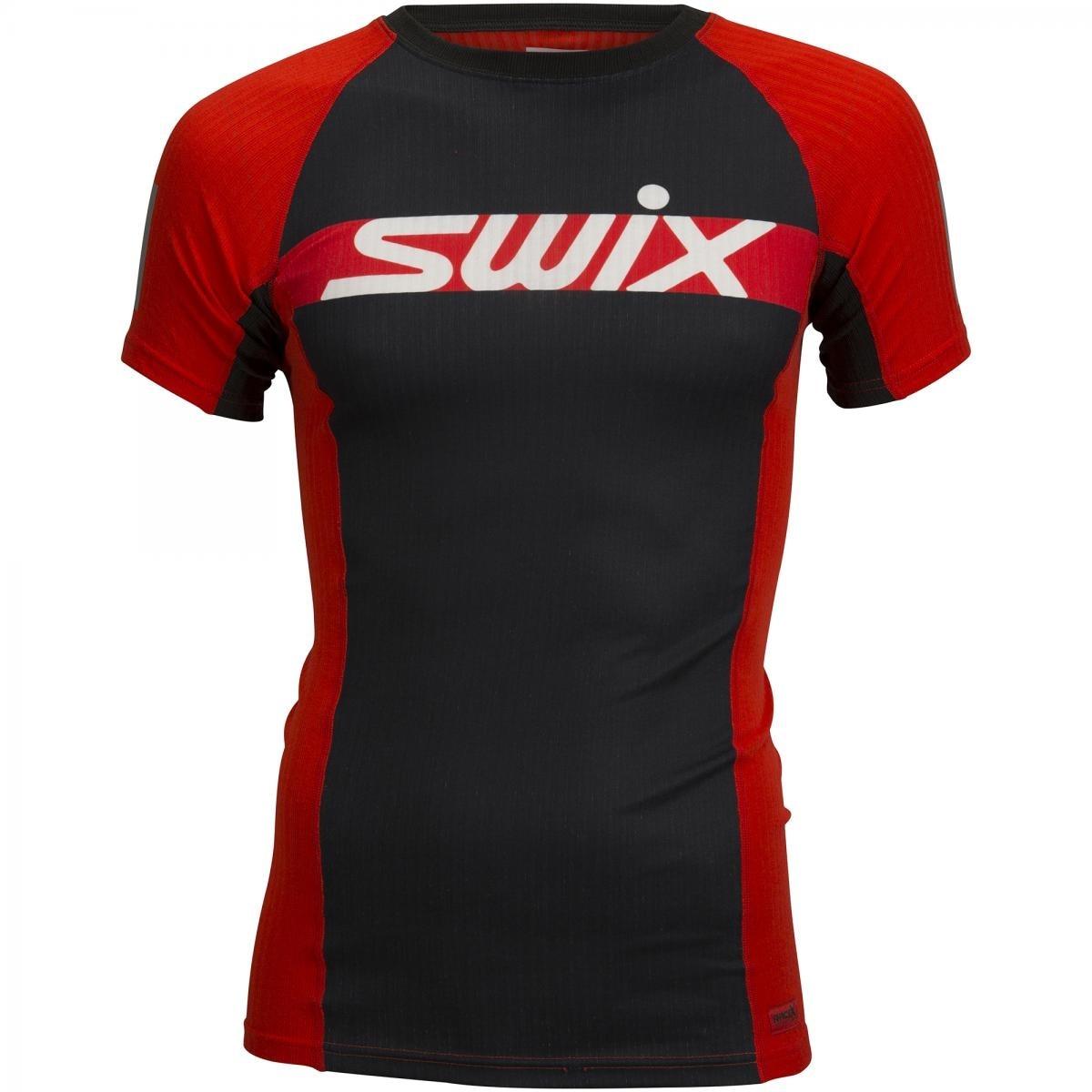 Swix RaceX Carbon Treningstrøye Herre Sort/Rød