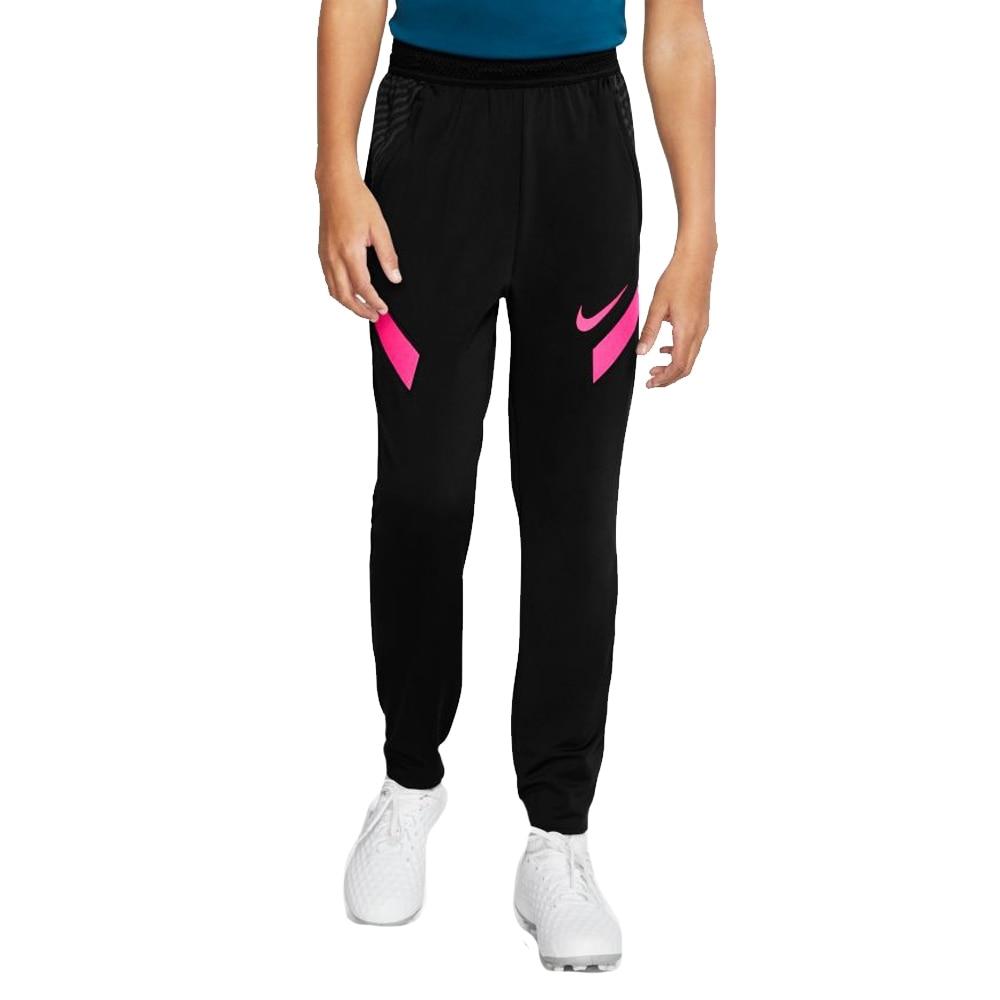 Nike Dry Strike Fotballbukse Barn Sort/Rosa