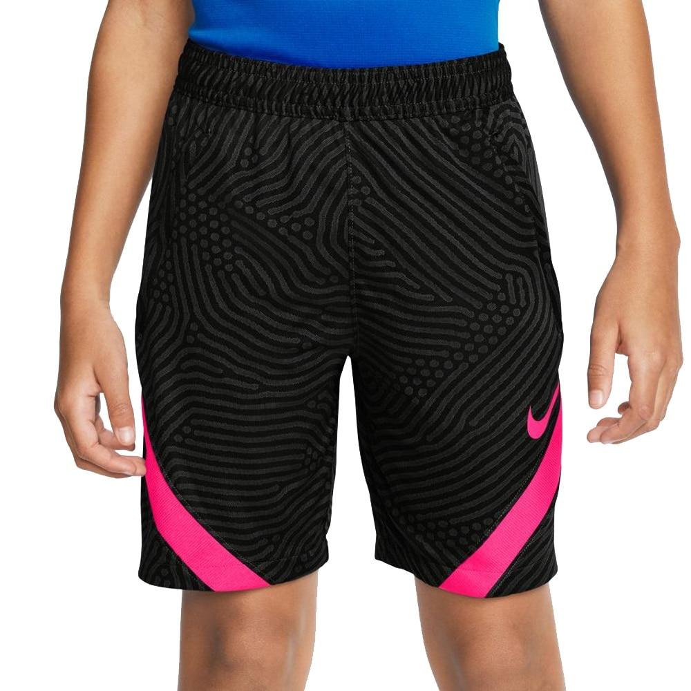 Nike Dry Strike Fotballshorts Knit Barn Sort/Rosa