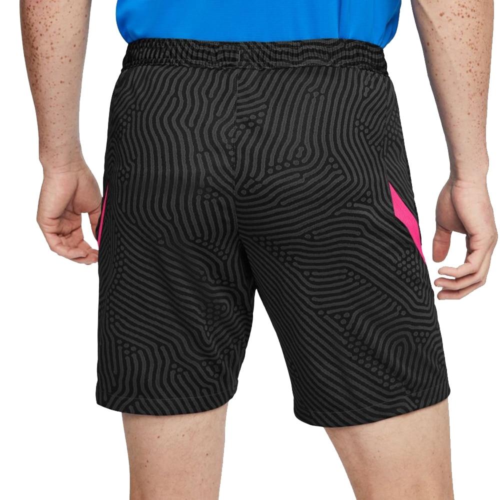 Nike Dry Strike Fotballshorts Knit Sort/Rosa