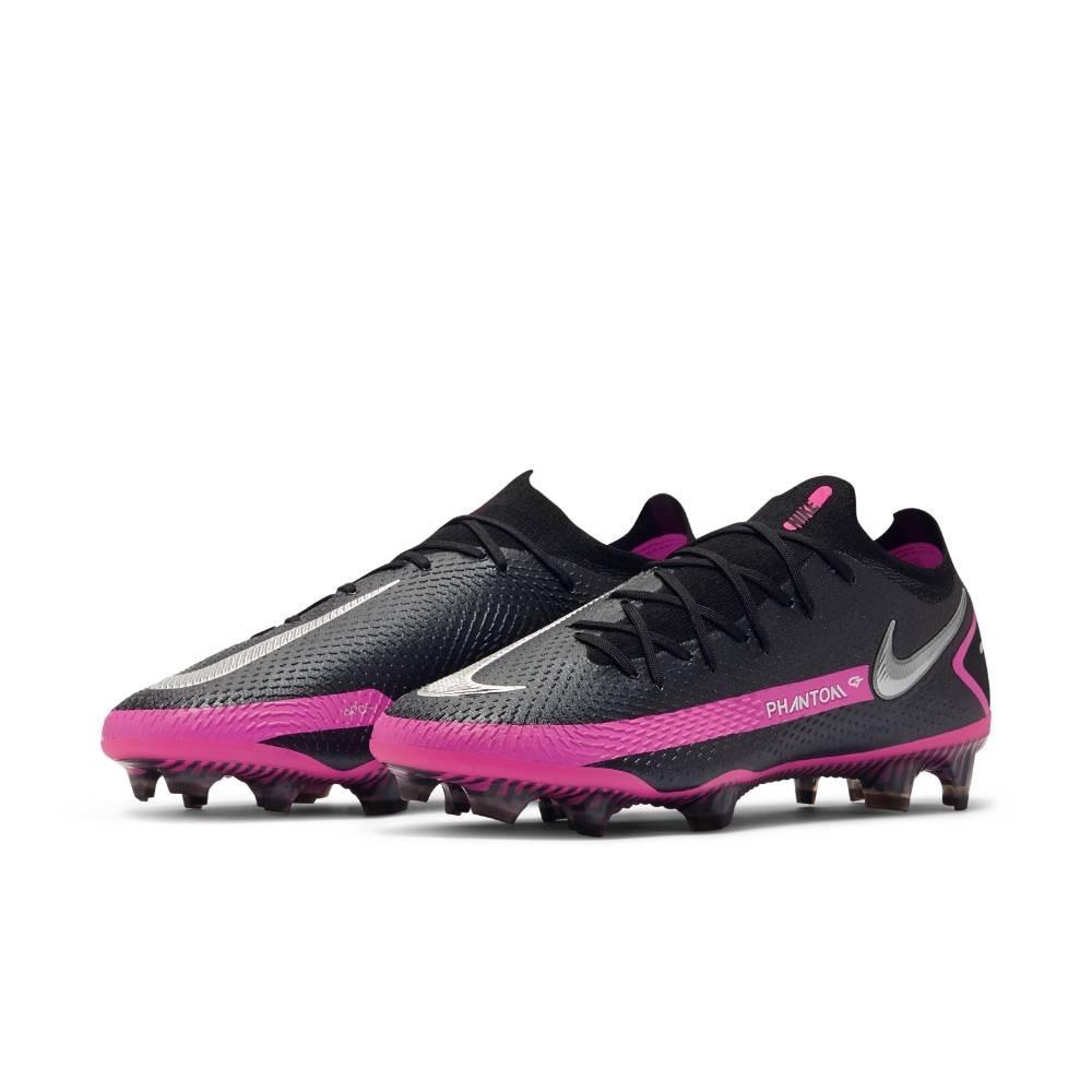 Nike Phantom GT Elite FG Fotballsko Sort/Rosa