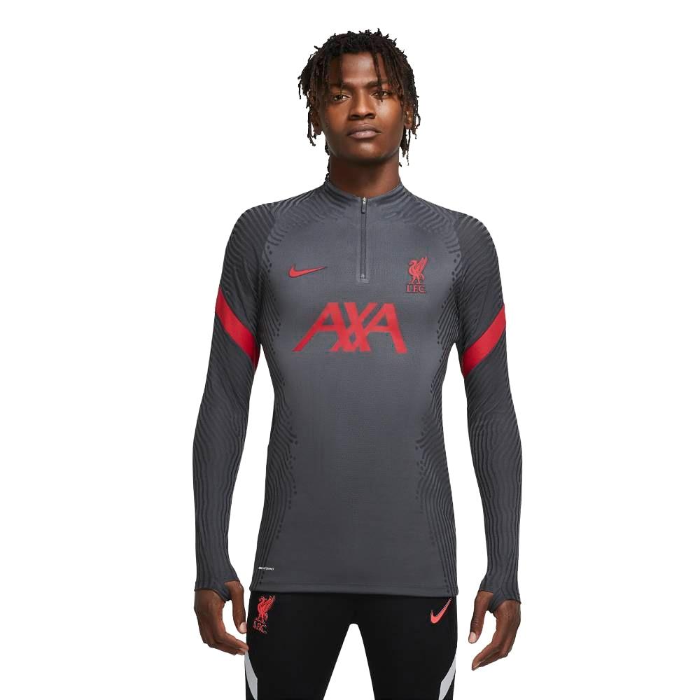 Nike Liverpool FC Vaporknit Strike Drill Top Fotballgenser 20/21 Grå