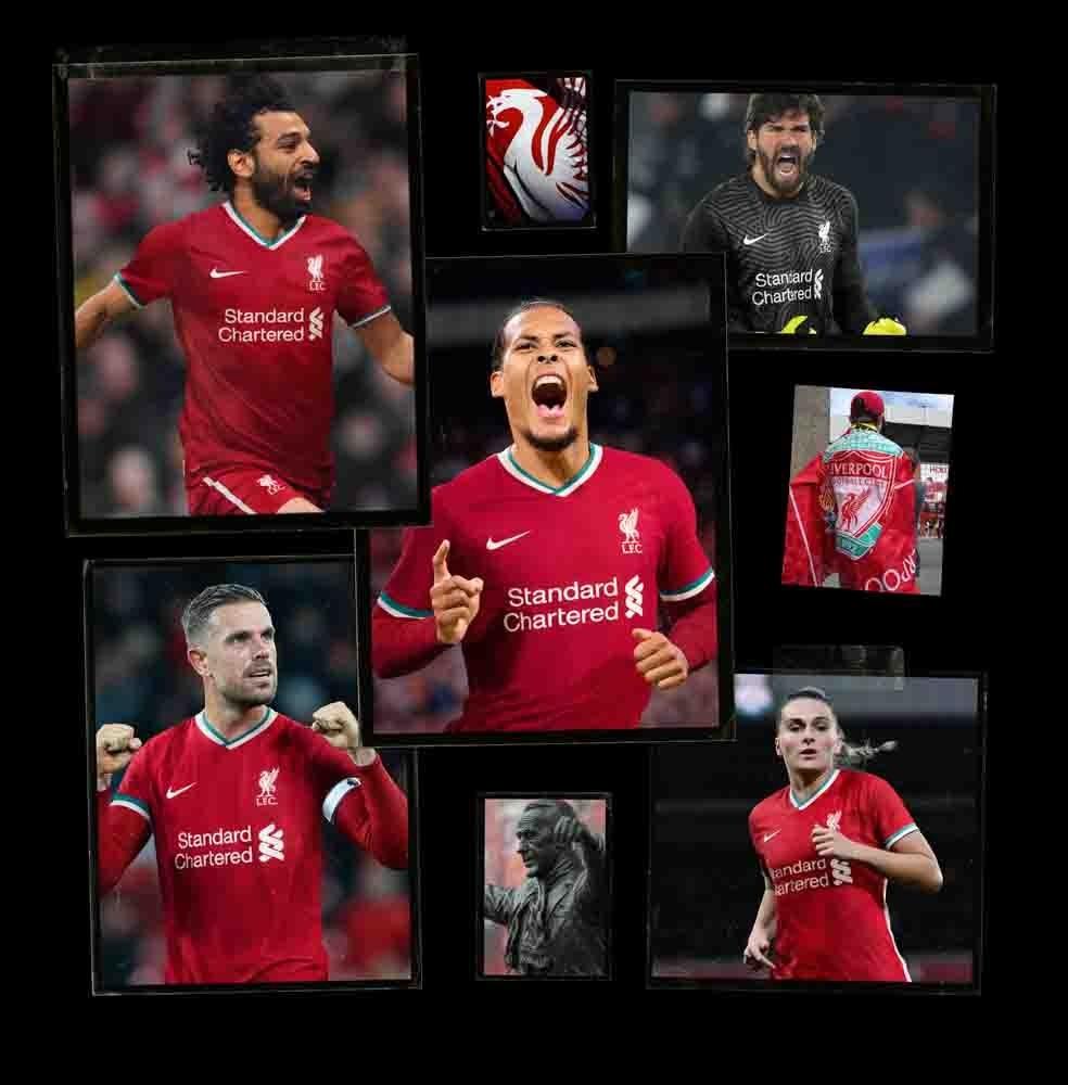 Nike Liverpool FC Fotballdrakt 20/21 Hjemme Barn