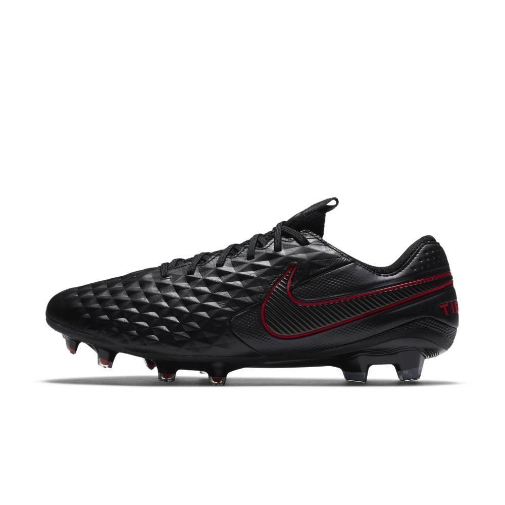 Nike Tiempo Legend 8 Elite FG Fotballsko Black x Chile Red Pack