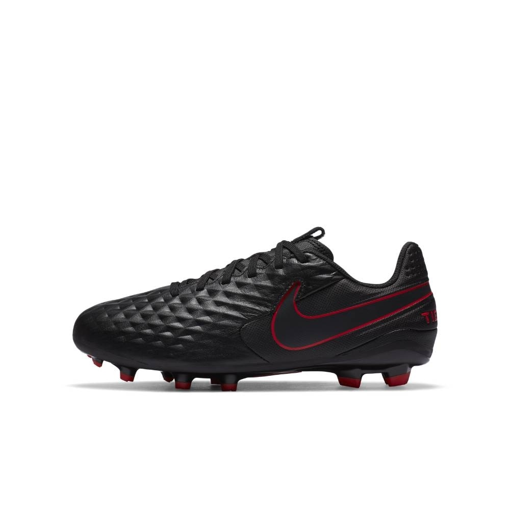 Nike Tiempo Legend 8 Academy MG Fotballsko Barn Black x Chile Red Pack