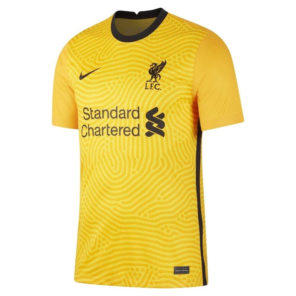 Nike Liverpool FC Fotballdrakt 20/21 Keeper Gul