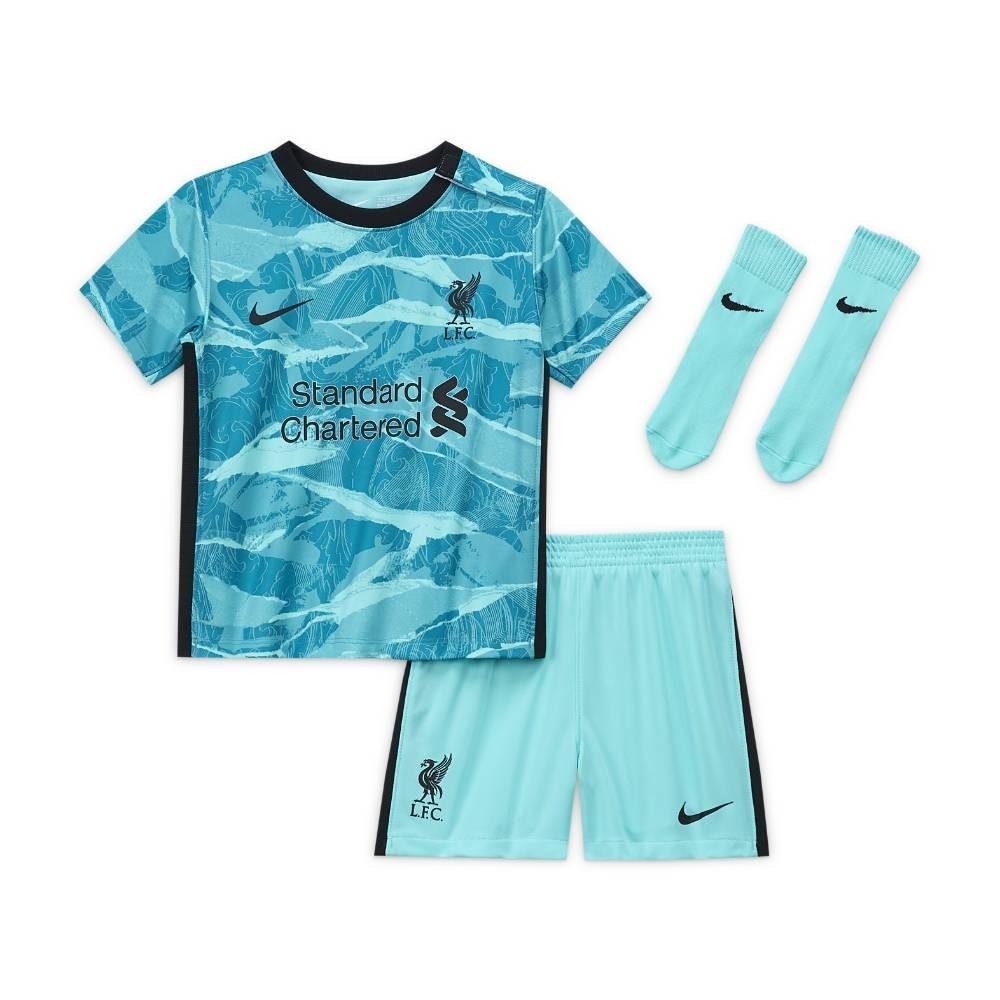 Nike Liverpool FC Draktsett 20/21 Borte Baby