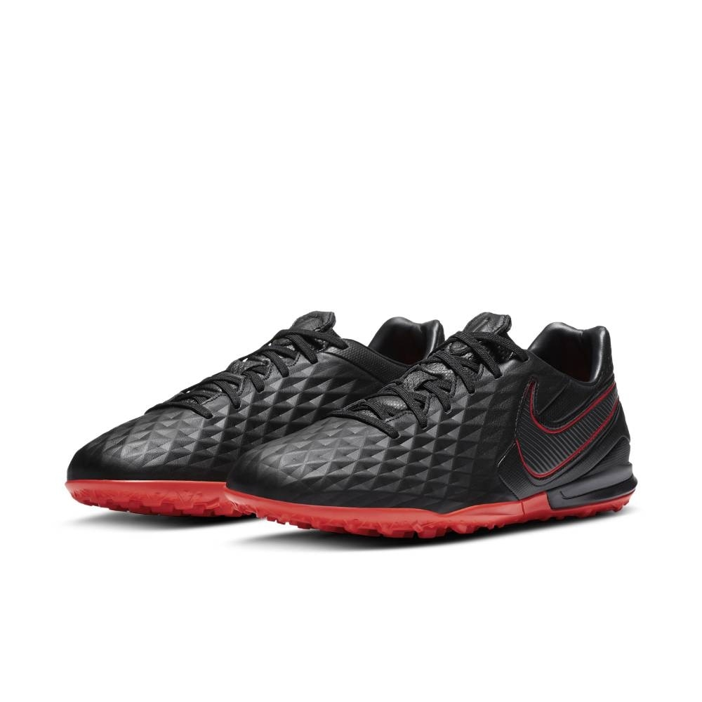 Nike TiempoX Legend 8 Pro TF Fotballsko Black x Chile Red Pack