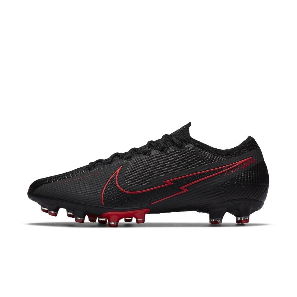 Nike Mercurial Vapor 13 Elite AG-Pro Fotballsko Black x Chile Red Pack