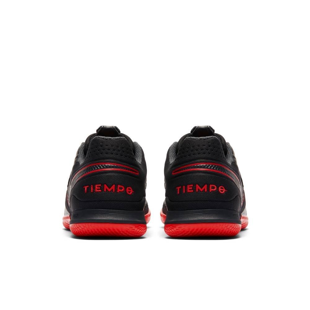 Nike TiempoX Legend React 8 Pro IC Futsal Innendørs Fotballsko Black x Chile Red Pack