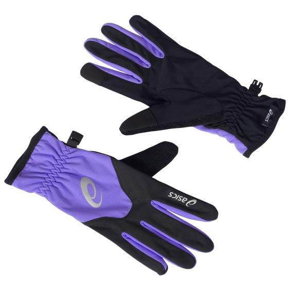 Asics Winter Gloves Løpehansker Dame Lilla/sort